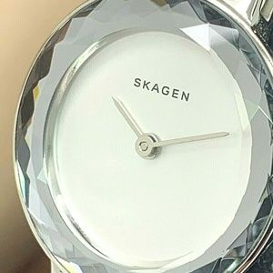 Skagen Denmark Women's Watch SKW2424 Leonora White
